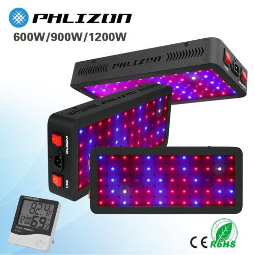New Phlizon 600W 900W 1200W LED Grow Lights Full Spectrum Veg Bloom for Hydroponics Phlizon Does Not Apply for 26.1.