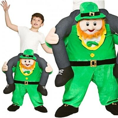 Jungen Mädchen Trage Mich Kobold Kostüm Irisch St.Patrick's Day Kostüm - Patrick Mädchen Kostüm