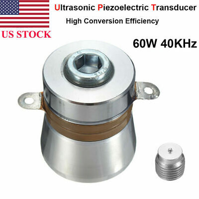 40khz 60w Ultrasonic Piezoelectric Transducer Clearner Cleaning High Conversion