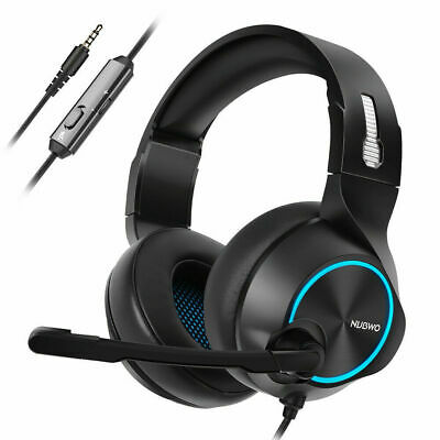 NUBWO Gaming Headset Stereo PC Gaming Headphones Surround Sound Earphones    ~A2