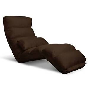 SALE:  Lounge Sofa Chair - 75 Adjustable Angles – Brown Melbourne CBD Melbourne City Preview
