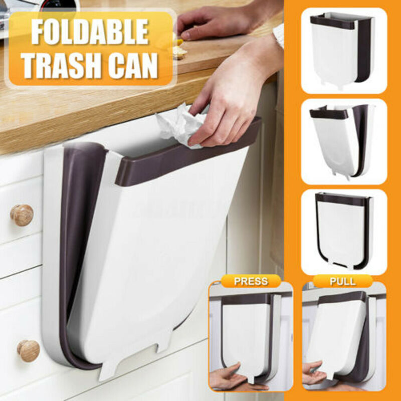 Household Supplies Cleaning 2l, Kitchen Cabinet Door Mounted Trash Can
