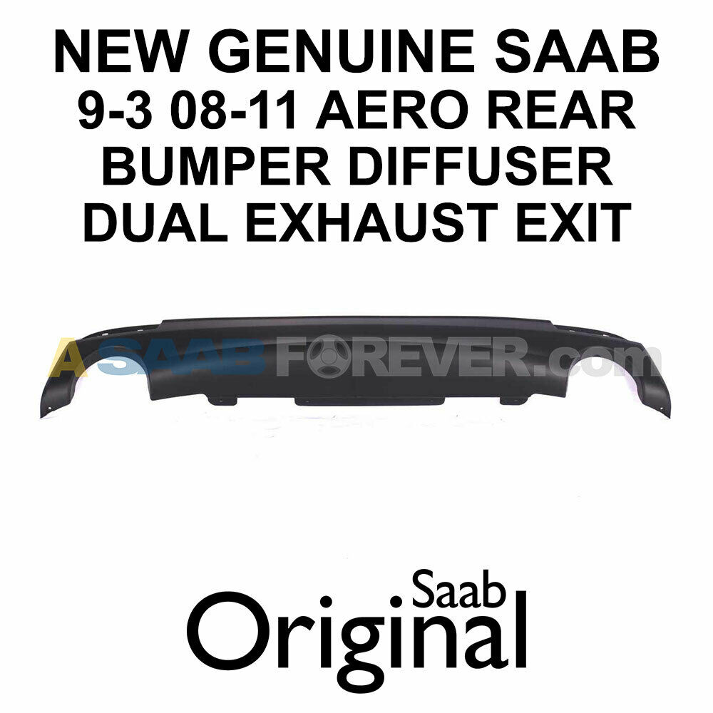 2003-2007 NEW Saab 9-3 Aero Front Lip Spoiler FREE SHIP Genuine OEM 32016151