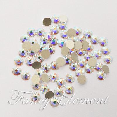 Swarovski Crystals No Hotfix Clear AB Nail Art Gems Rhinestones Beads Wholesale Ab Wholesale Swarovski Rhinestones