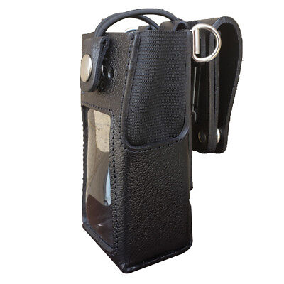 Case Guys Mr8555-3bwd Hard Leather Holster For Motorola Xpr 7550 Xpr 7580e Radio