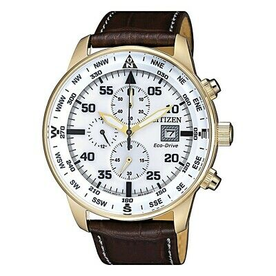 Citizen Aviator Men's Eco-Drive Watch - CA0693-12A NEW
