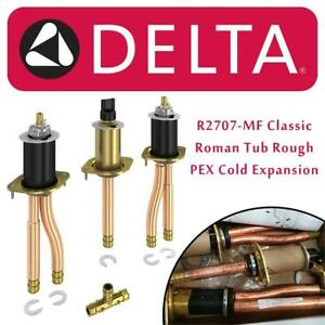 New  Delta Faucet R2707-MF Classic, Roman Tub Rough - PEX Cold Expansion Condition: New