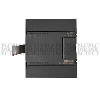 Used Tested Siemens 6es7 231-7pb22-0xa0 Analog Input Module