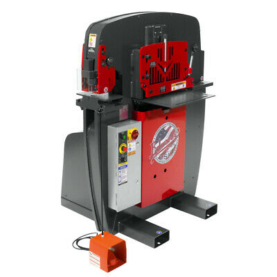 Edwards Iw551p230 230v 1-phase Jaws Series 55-ton Ironworker New