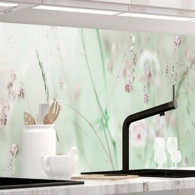 Jede Küche (Küchenrückwand - WILDBLUMENWIESE - 1.5mm Hart-Material, jeder Untergrund möglich)