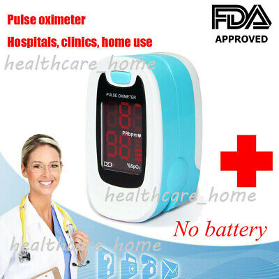 2020 New Medical Fingertip Pulse Oximeter Blood Oxygen Saturation Monitor