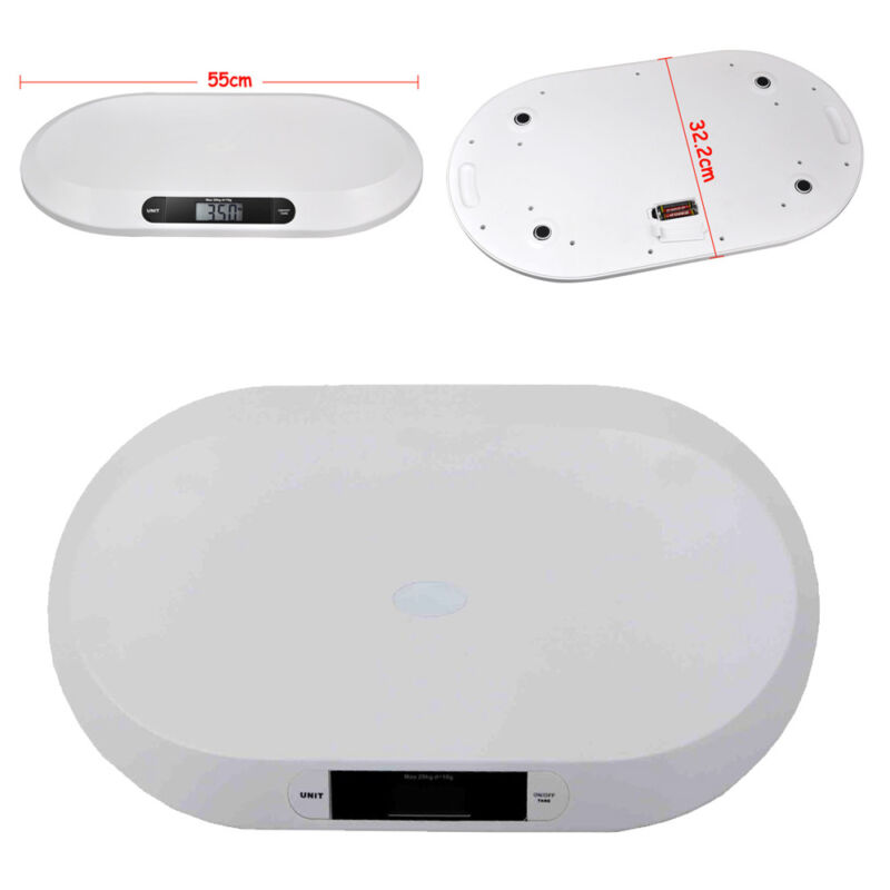 Smart Weigh Comfort Baby Scale with 3 Weighing Modes,44 Pound (lbs) Capacity