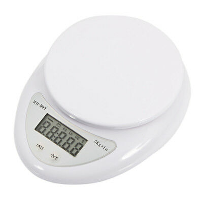 - 5kg 5000g/1g Digital Kitchen Food Diet Electronic Weight Balance Scale US
