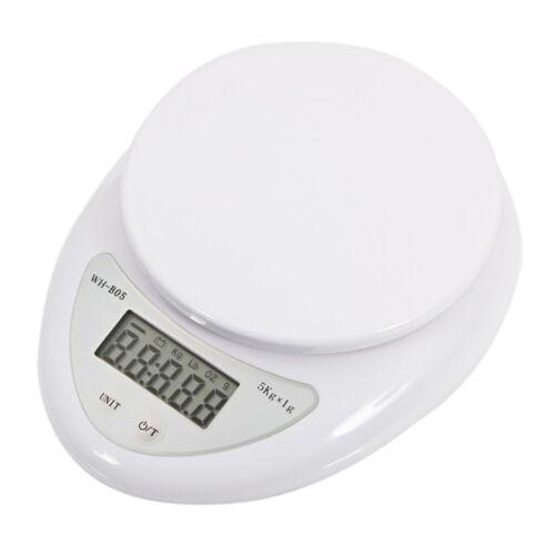 5kg 5000g/1g Digital Kitchen Food Diet Electronic Weight Bal
