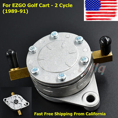 Brand New Replacement Fuel Pump for EZGO 2-Cycle Gas Golf Cart 1989-1991 US for sale  Shipping to South Africa
