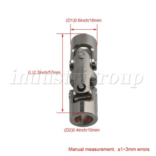 45# Steel Three-section Universal Joint Coupling Shaft Motor Connector Coupler