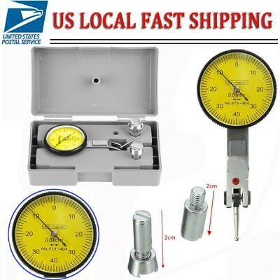 1 Dial Test Indicator Travel Lug Lever Gauge Scale Meter 0.001 Graduations Usa