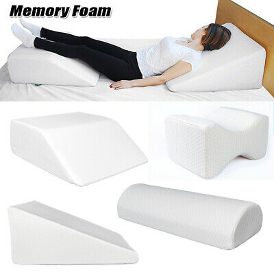 Acid Reflux Foam Bed Wedge Pillow Leg Elevation Back Support Cushions With Cover Foam Bed Pillow