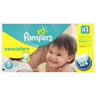 Pampers Unisex 5 Size Baby Disposable Diapers