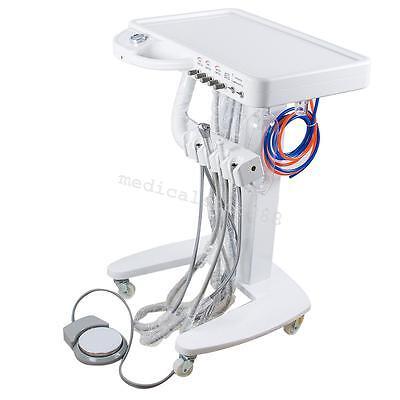 Dental Delivery Mobile Cart Unit Equipment For Dental Labclinic 4hole Syringe