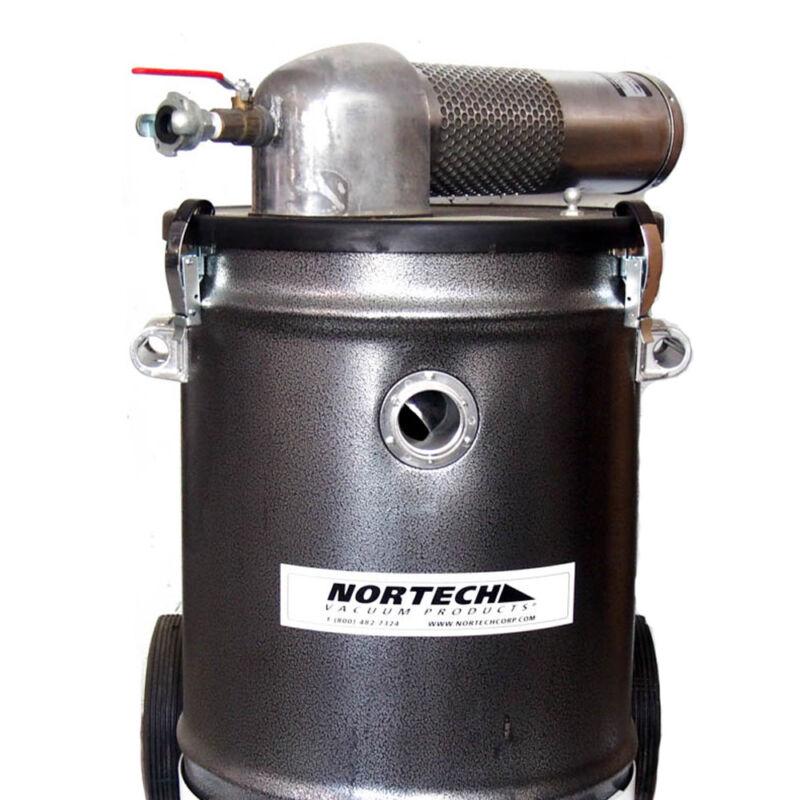 Nortech N151DCNED 15 Gallon Single Venturi Static Conductive Drum Vacuum