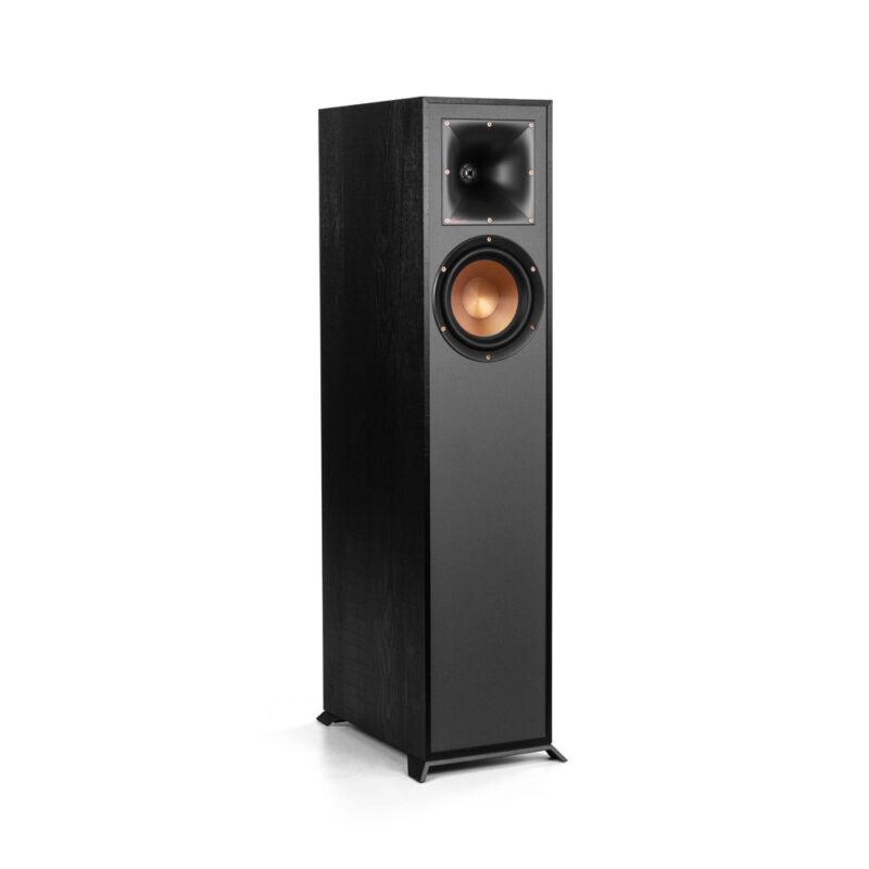 Klipsch Reference R-610f Black Floorstanding Speaker - Each