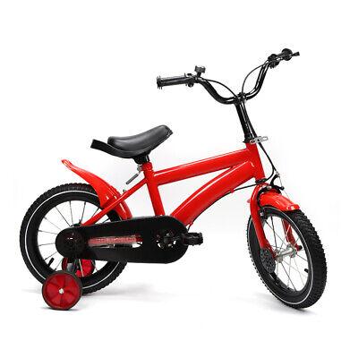 "14"" Kids Bike Bicycle Boys & Girls with Training Wheels Red"