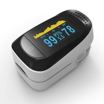 Finger Pulse Oximeter Oled Spo2 Pr Pi Odi Sleep Monitor 8 Hours Health Care