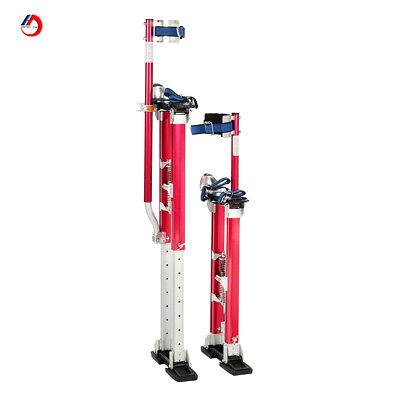 100 Aluminum Pro Stilts 15-23 For 8 Foot Ceilings Pink