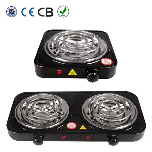 Electric Double / Single Burner Portable Hot Plate Counterto