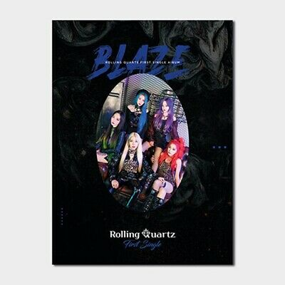 K-POP Rolling Quartz 1st Single Album [Blaze] CD Sealed