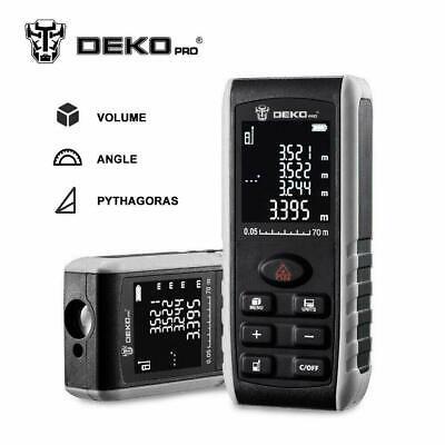 DEKO 229ft electronic measuring tool laser distance measuring device - Laser Measuring Device