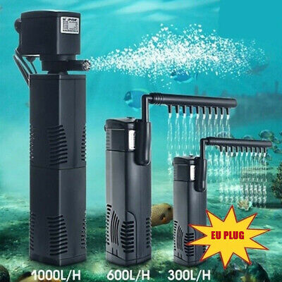 AP-300/600/1000/1500L Vertikale Interne Aquarium Filter Filtration Pumpe Spray