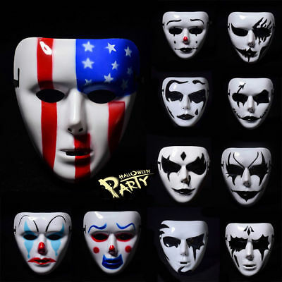 2017 Full Face Mask Cosplay Masquerade Horror Scary For Halloween Costume Party - New Scary Halloween Costumes 2017