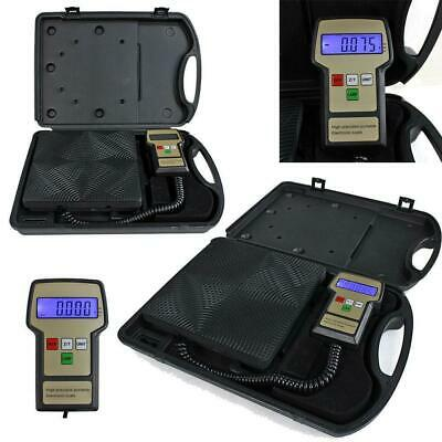 220lbs Digital Electronic Refrigerant Charging Weight Scale For Hvac With A Case