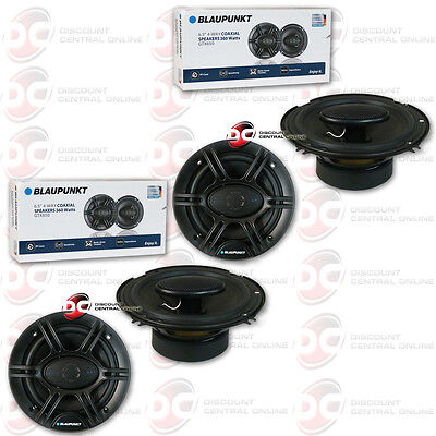4 X Brand New Blaupunkt 6 5 Inch 4 Way Car Audio Coaxial Speakers 6 1 2