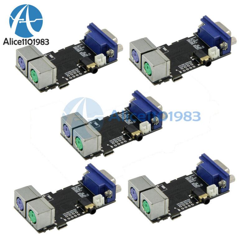 1-5pcs Esp32 Vga32 V1.4 Graphics Library Ps/2 Mouse Keyboard Controller Module