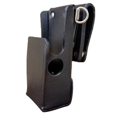 Case Guys Mr8608-3awd Leather Holster For Motorola Apx 6000 8000 Two Way Radios