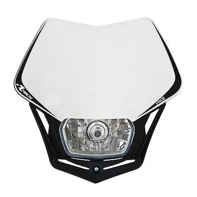MASCHERINA PORTAFARO RACETECH V-FACE BIANCA (White Headlight) - R-MASKBNNR008 usato  Milano