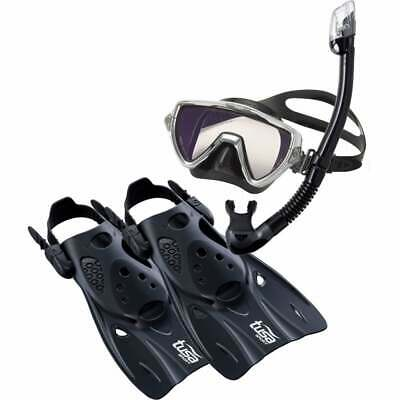 Tusa Visio Pro Travel Snorkelling Set