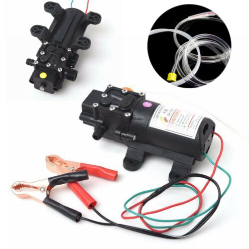 New Transfer Pump Extractor Car Boat Oil Fluid Scavenge Suction Vacuum DC12V 5L
