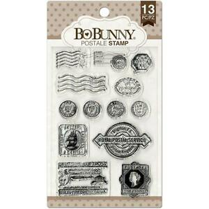 POSTAL Postage Stamps Set Clear Unmounted Rubber Stamps Set BOBUNNY 12105445 New