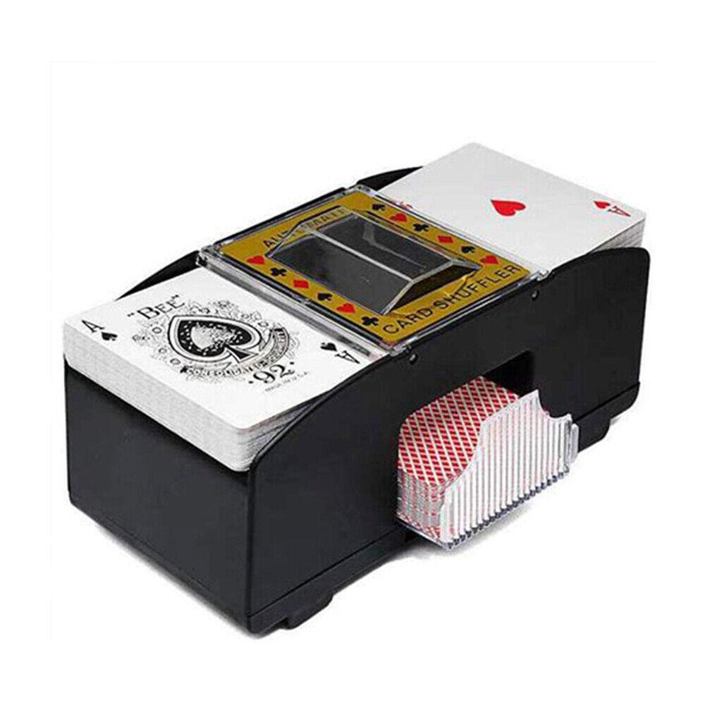 shuffle machine board game poker playing cards electric