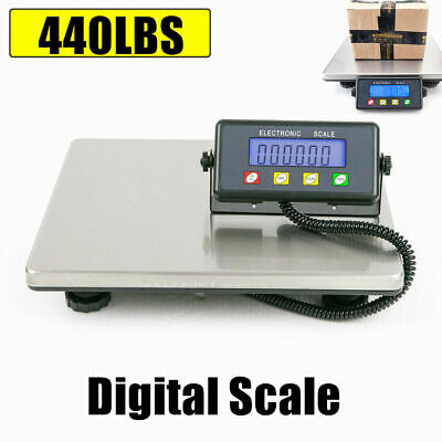 Heavy Duty Digital Electronic Platform Scale Postal Parcel Weighing 200kg440lb