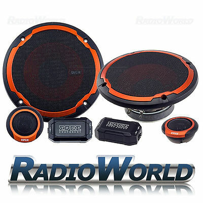"EDGE ED306 6.5"" 16.5cm 2-way Car Component Door/Shelf/Dash Speakers 480W Pair"