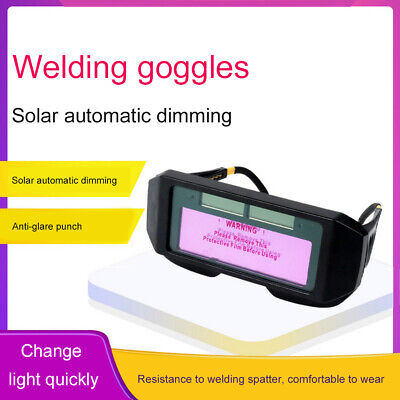 Auto Darkening Welding Helmet Goggles Solar Glasses Mask Helmet Eye Protection
