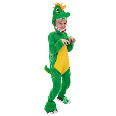 Jurassic Dinosaur Children's Halloween Costume | T-Rex Dino Suit for Kids