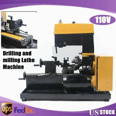 110 V Micro Drilling And Milling Lathe Machine Multi-function Machine Drilling
