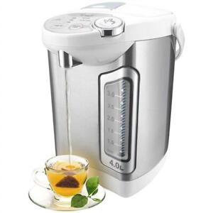 Lightly Used Rosewill Electric Hot Water Boiler and Warmer, 4.0 Liter Hot Water Dispenser, Stainless Steel/White, R-H...