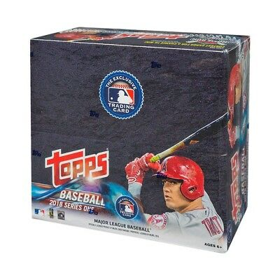 2018 Topps Series 1 Baseball 24ct Retail Box